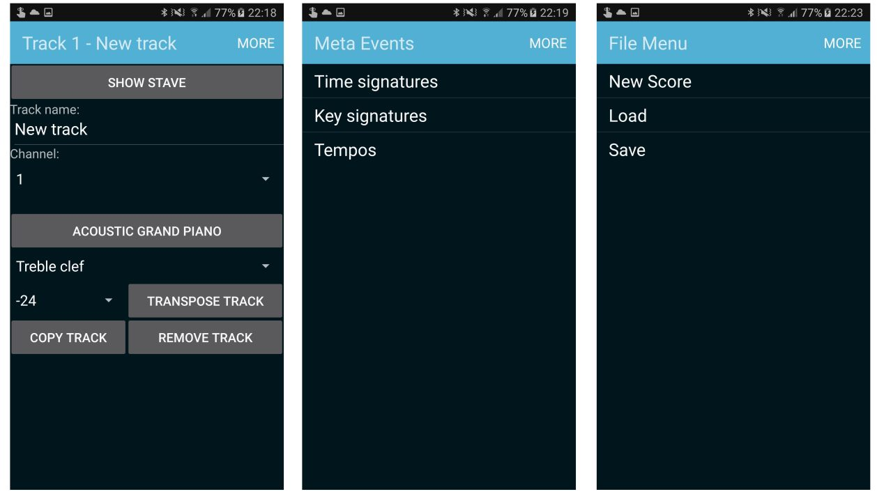 Photos of midi sequencer for Android - slide 3